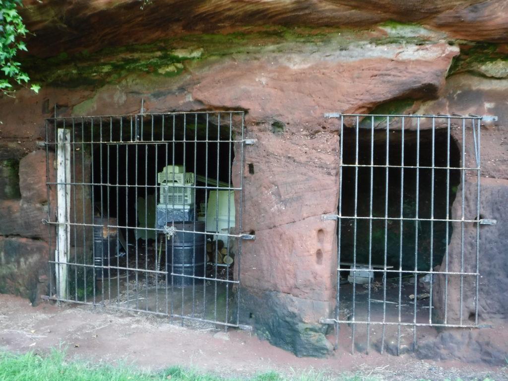 Man made caves