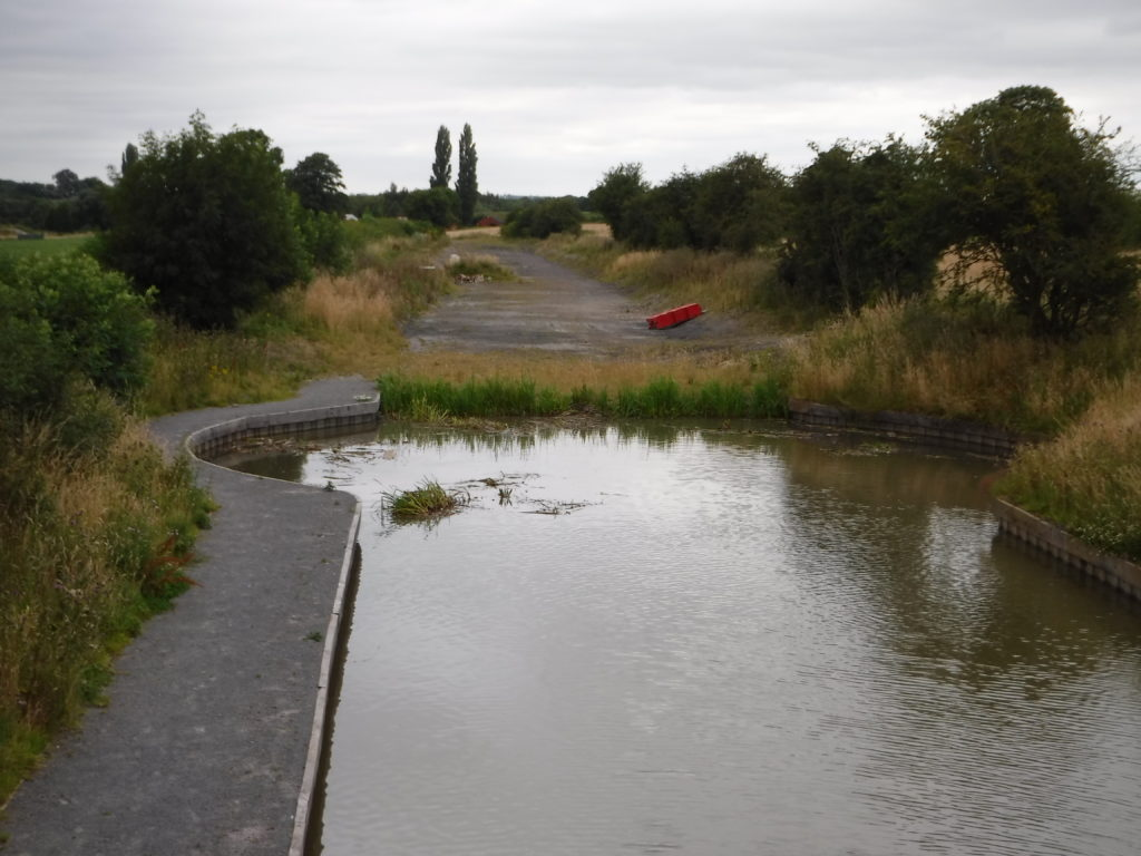 End of the Ashby Canal