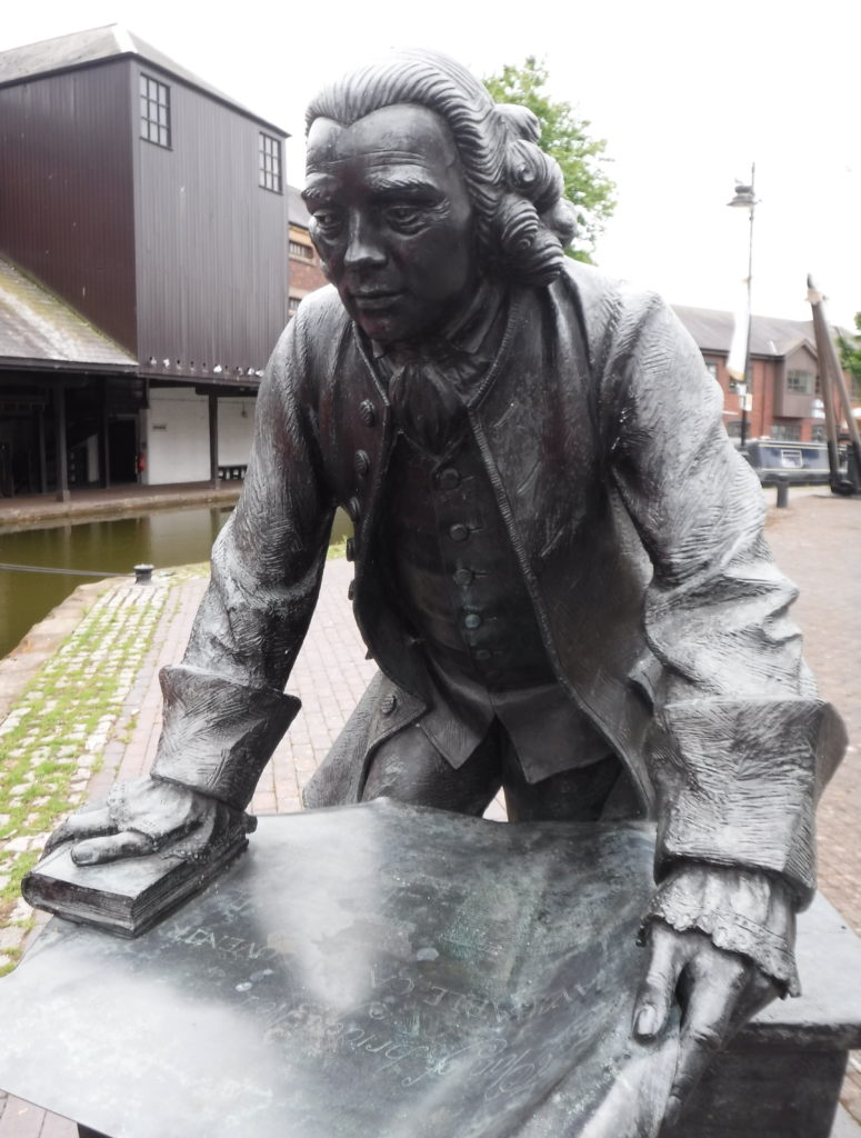 Brindley Statue