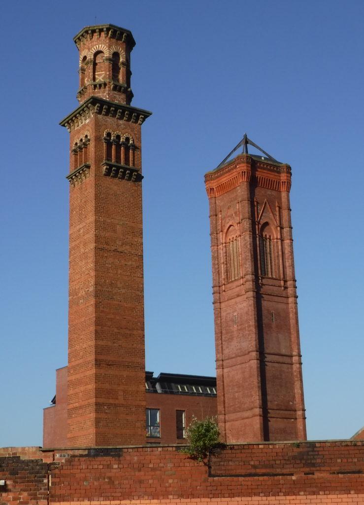 Strange campanile
