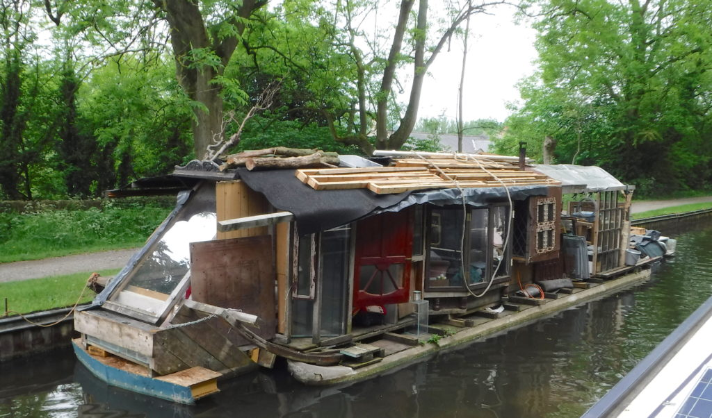 Weird Houseboat