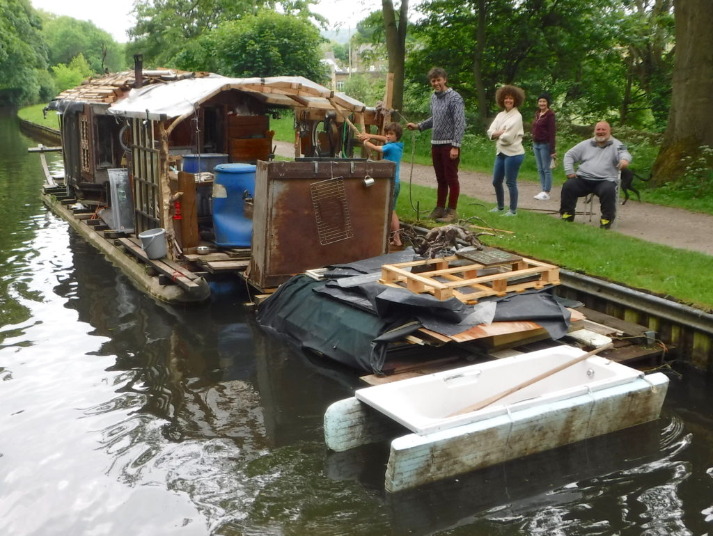 Weird Houseboat rear