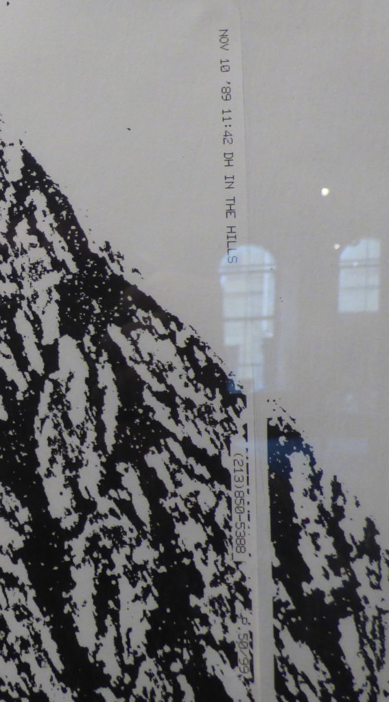 Hockney's fax