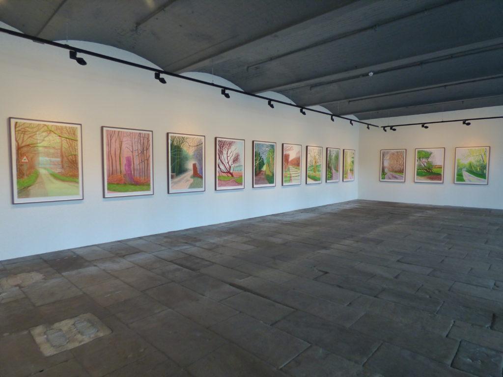 Hockney: Arrival of Spring
