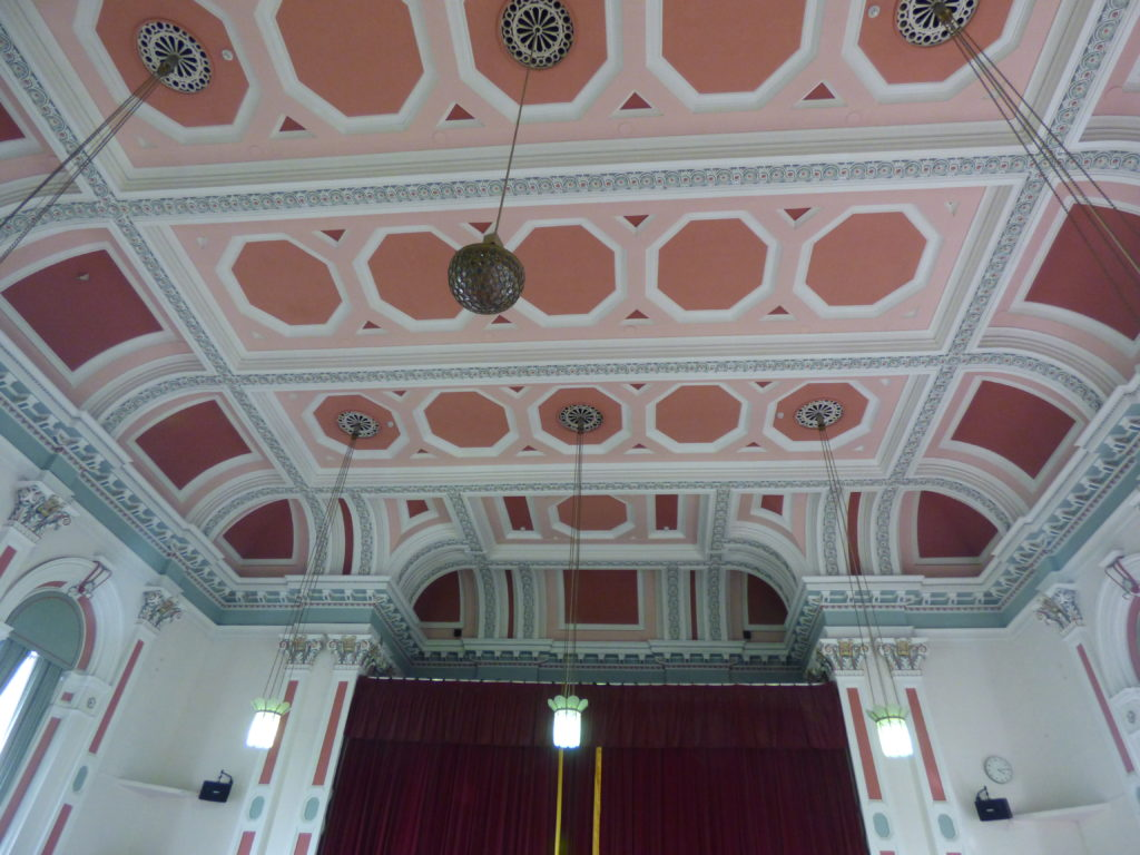 Victoria Hall Ceiling