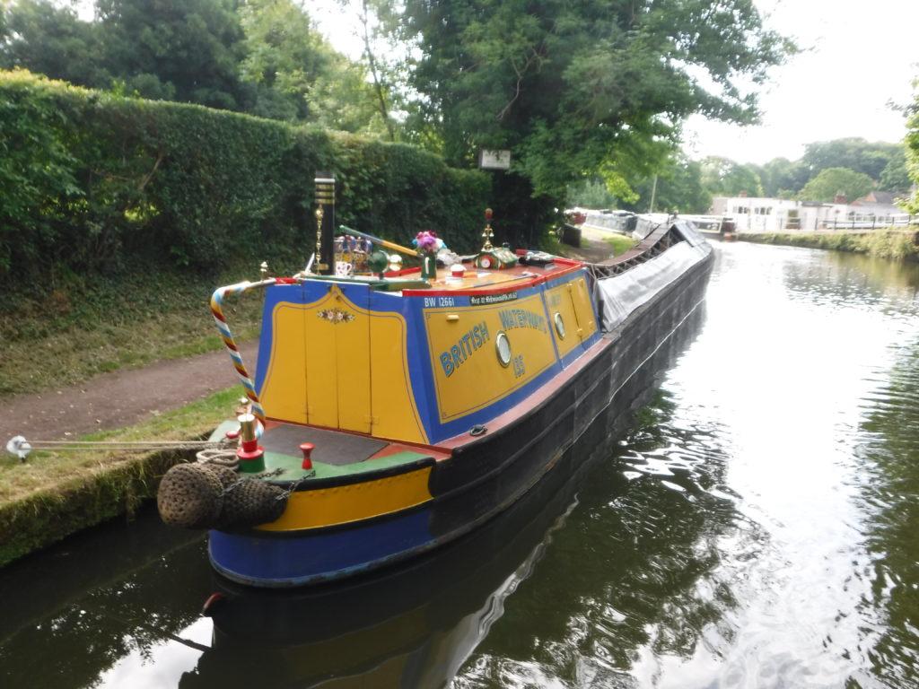 Old narrowboat