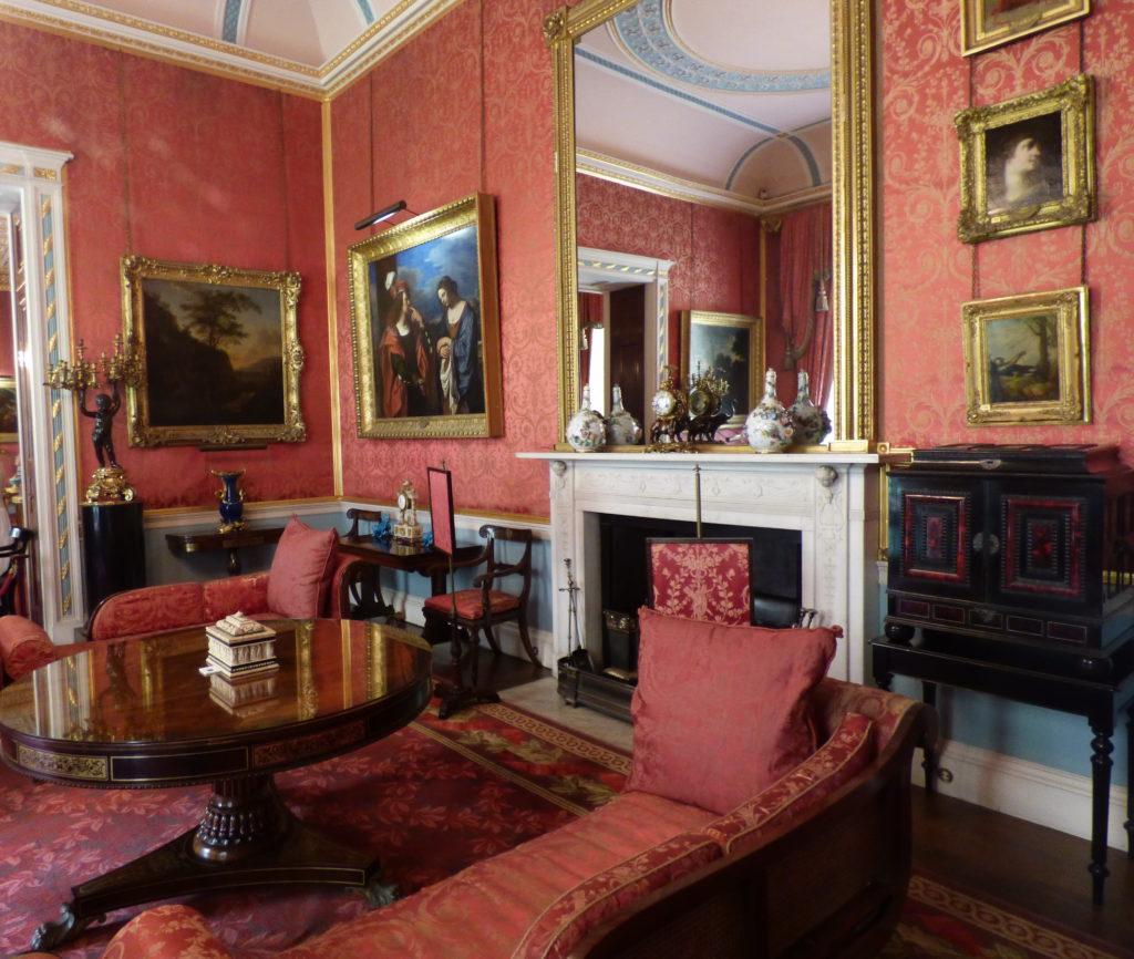 Tatton Hall drawing room