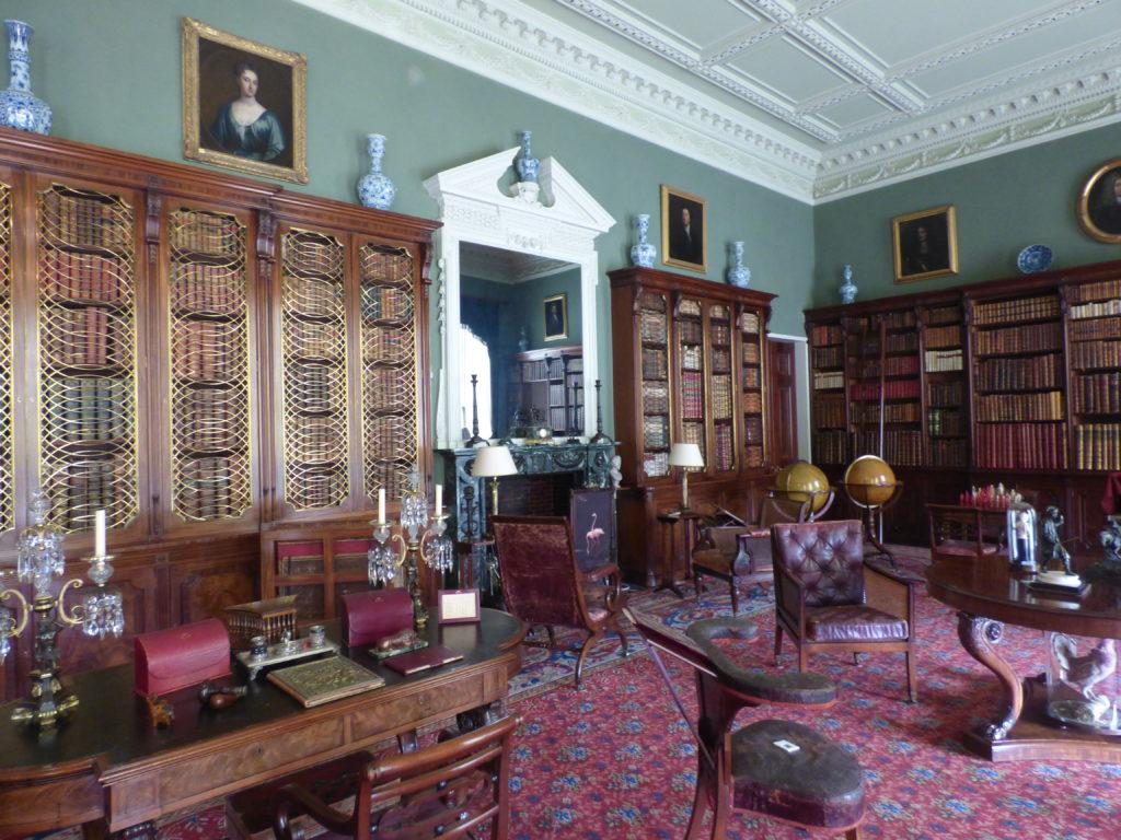 Tatton Hall library