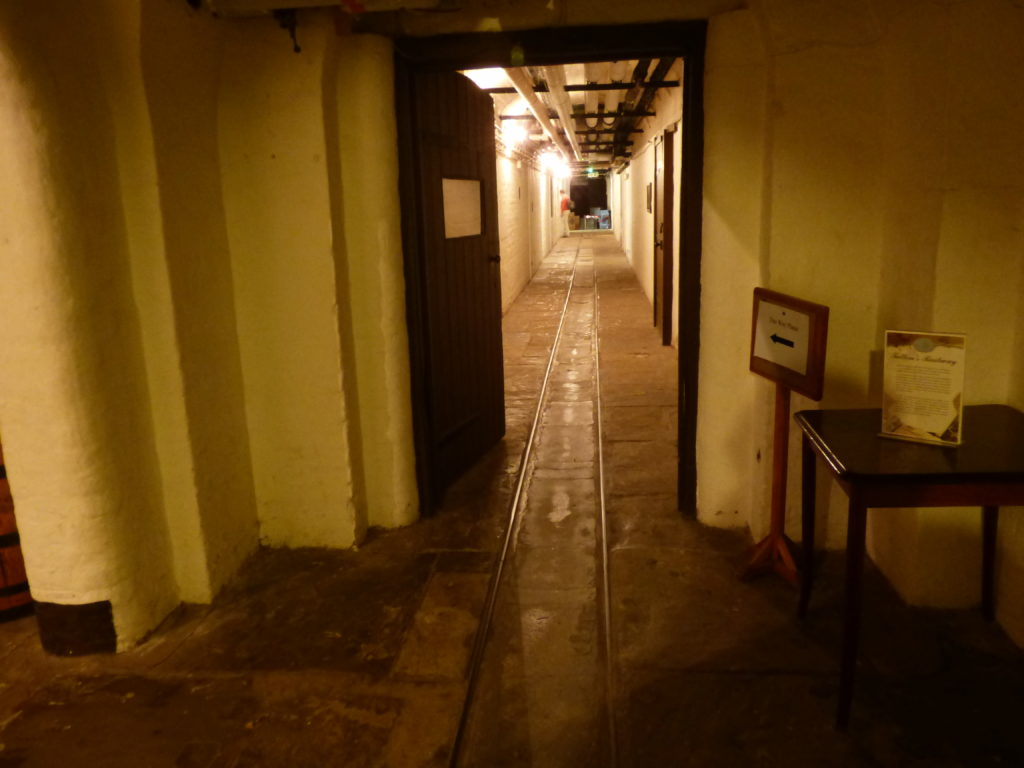 Tatton Hall cellars