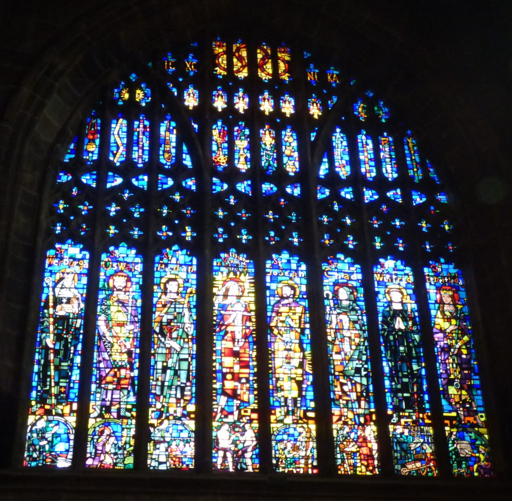 1960s stained glass