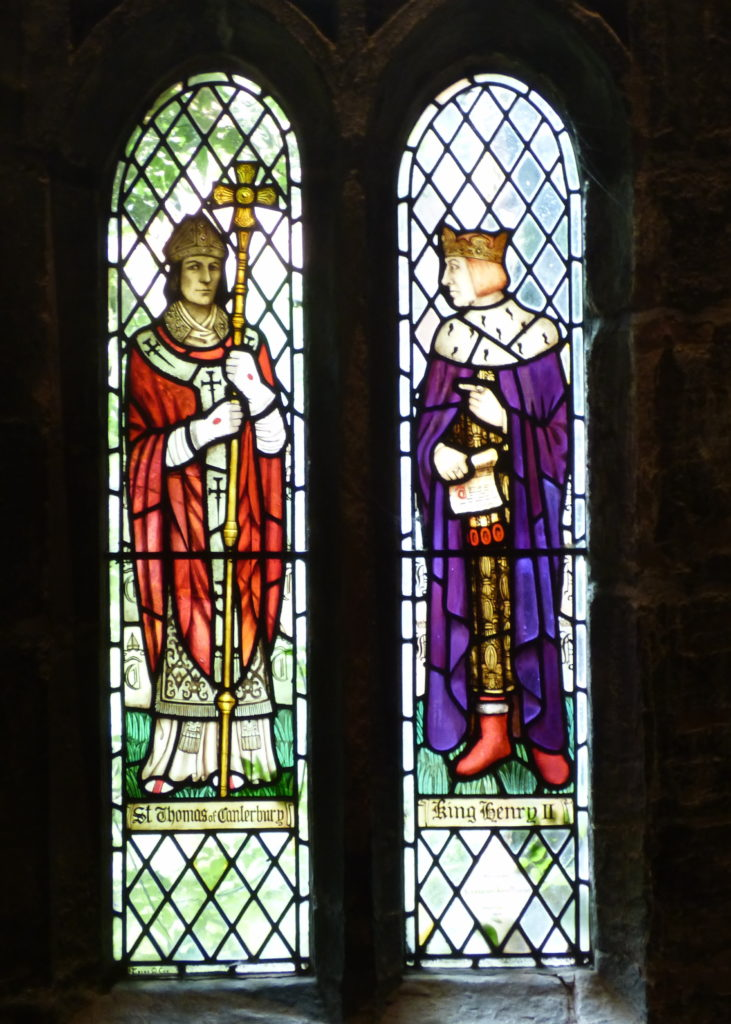 Henry II and St Thomas