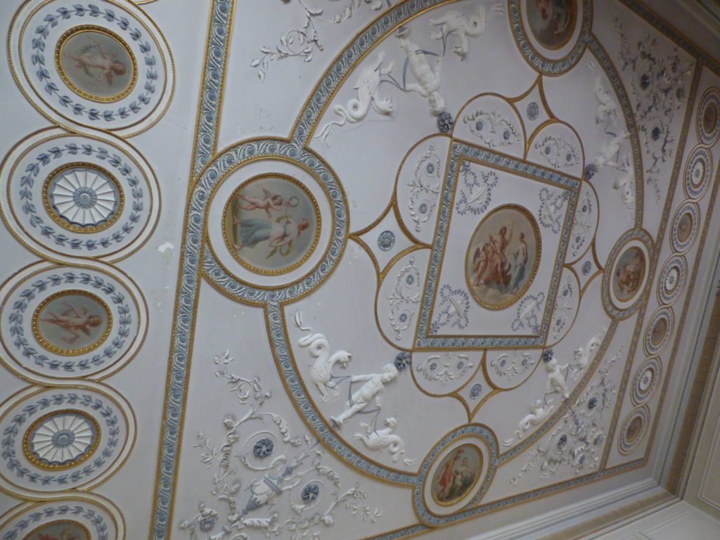 Gloppy Georgian Ceiling
