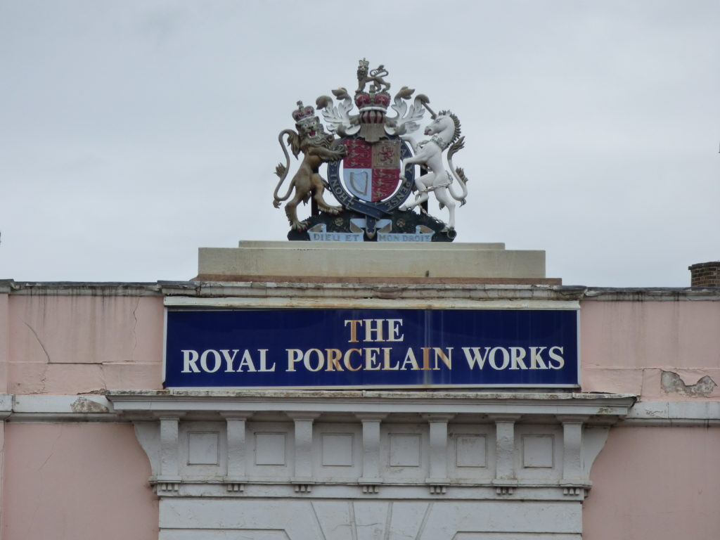 Royal Worcester sign