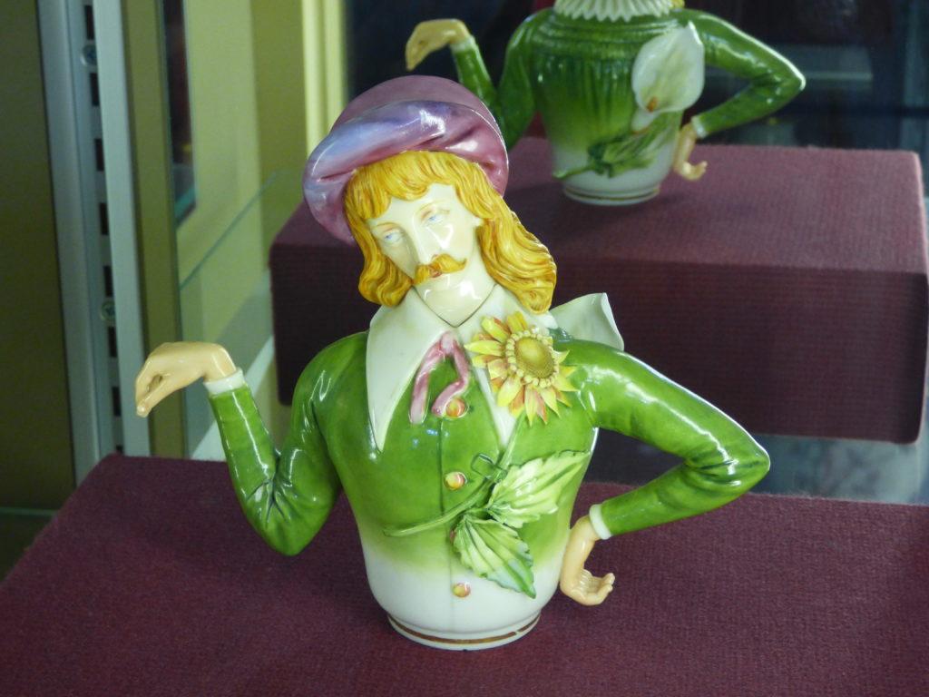 Oscar Wilde Teapot