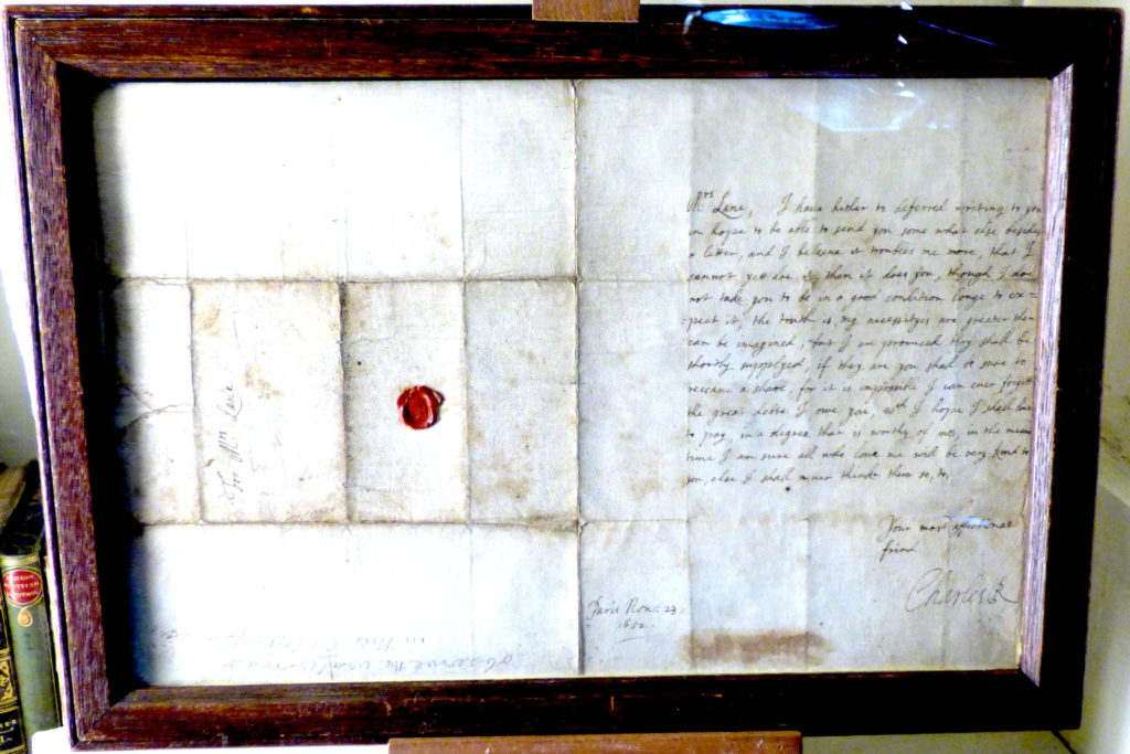 Letter from Charles I