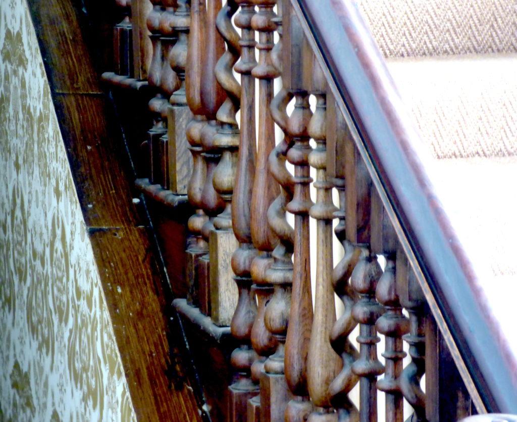 Wonky railing
